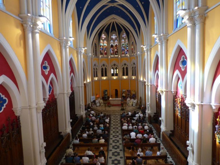 Messe des 175 ans de présence mariste dans le Var