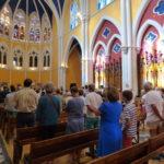 messe 175 ans maristes dans chapelle de l'institution Sainte Marie (30)