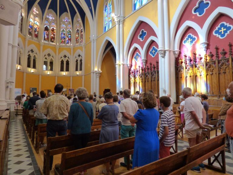 Messe des 175 ans dans la chapelle de l'Institution Saint-Marie à La Seyne